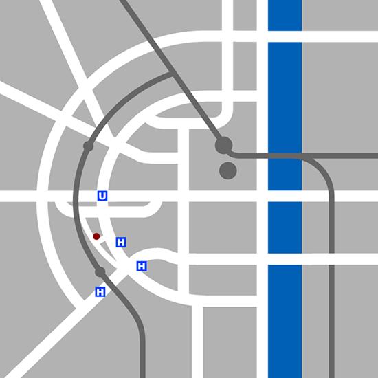 Stadtplan Übersicht